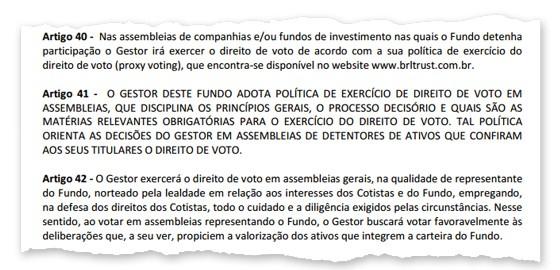 Novo regulamento do fundo que administra a Arena Corinthians (Foto: Reprodução)