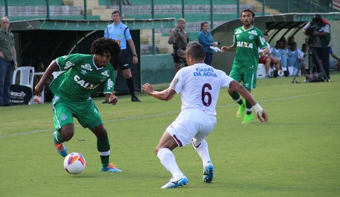 Wiliam Barbio Chapecoense x Atlético de Ibirama (Foto: Cleberson Silva/Chapecoense)