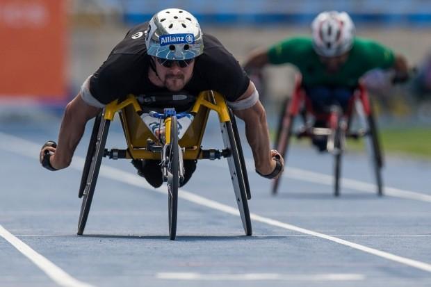 Marcel Hug, suíço que competirá na Paralimpíada do Rio de Janeiro (Foto: Buda Mendes/Getty Images)
