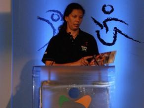 Presidente do IEE, ex-atleta Ana Moser (Foto: Divulgação/ IEE)