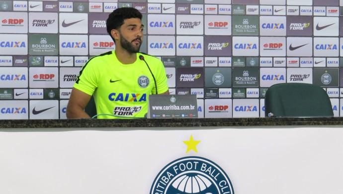 Alan Santos Coritiba (Foto: Fernando Freire)