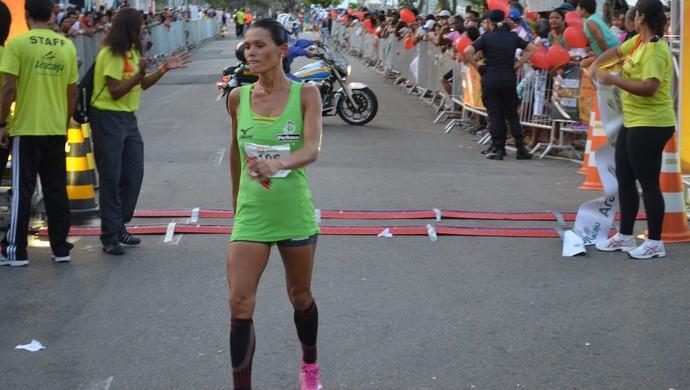 Corrida Cidade de Aracaju; Marily dos Santos (Foto: Thiago Barbosa / GloboEsporte.com)