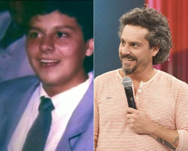 Antes e depois de Alexandre Nero (Foto: Ellen Soares/TV Globo)