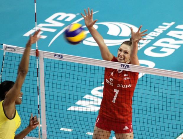 De virada, Brasil derrota Polônia por 3 a 1 na estreia do Grand Pix / Fivb