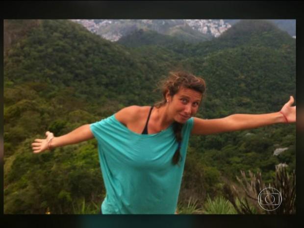 Italiana é encontrada morta em Jericoacoara (CE) (Foto: Reprodução TV Globo)