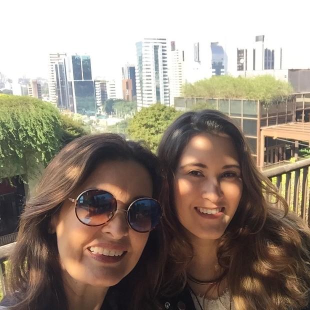 Fatima Bernardes e a filha, Beatriz (Foto: reprodução/instagram)