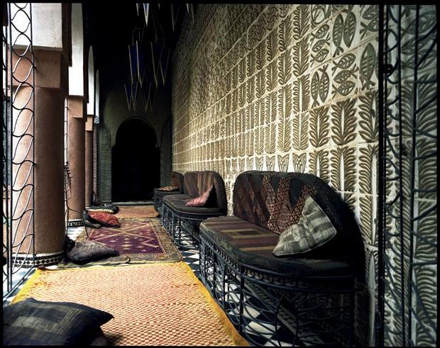 A casa de Franca Sozzani no Marrocos (Foto: Ivan Terestchenko)