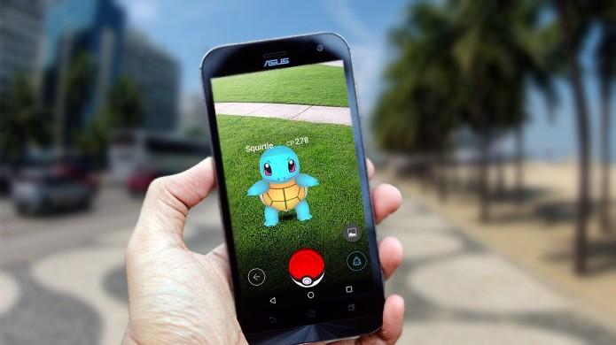 Pokémon Go ganha versão compatível com dispositivos da linha Zenfone da Asus (Foto: Reprodução/Rafael Monteiro)