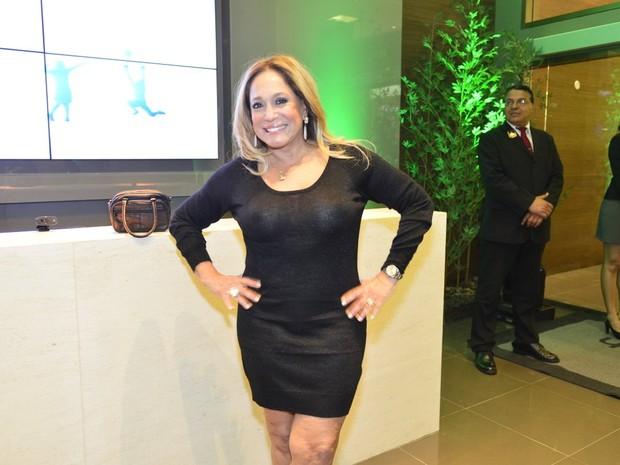 Susana Vieira em inauguração de academia (Foto: André Muzell / AgNews)