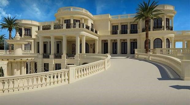 Casa é apontada como a mais cara dos Estados Unidos (Foto: Divulgação/Coldwell Banker Residential Real State)