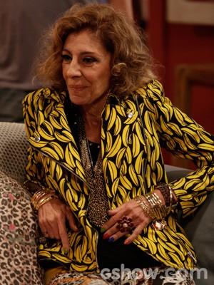 Marília Pêra volta a viver Darlene (Foto: Fábio Rocha/TV Globo)