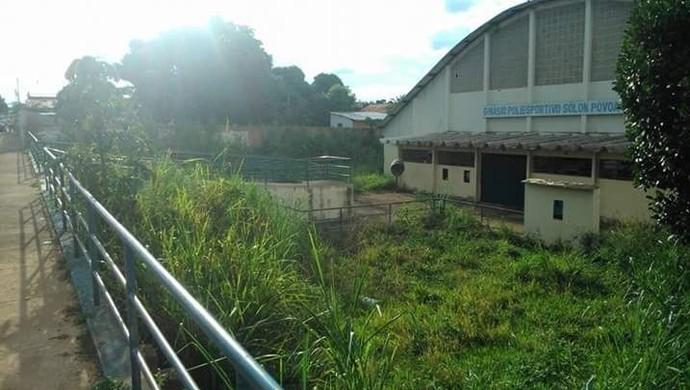 Ginásio Poliesportivo em Dianópolis (Foto: Arquivo Pessoal)