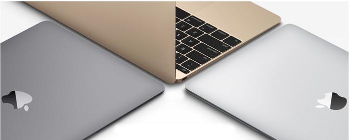 MacBook traz logo da Apple espalhado como nos iPads (Foto: Divulgação/Apple)
