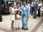 Carlitos Tevez, atacante do Boca Juniors, se casa em Buenos Aires