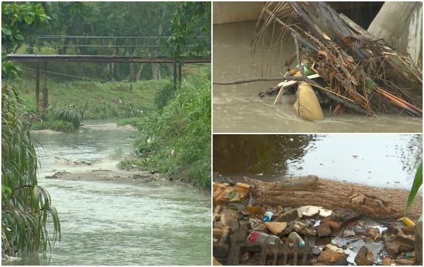 Igarapé do Quarenta passou por revitalização recentemente (Foto: Bom Dia Amazônia)