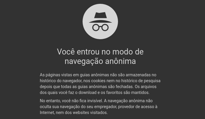 Descubra como usar a navegação privada em qualquer navegador Web (Foto: Reprodução/Edivaldo Brito)