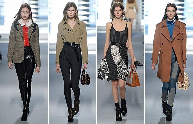 Estreia de Nicolas Ghesquire na passarela da Louis Vuitton: roupas sofisticadas, mas usveis. (Foto: Getty Images)