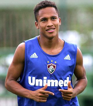 Soares na passagem pelo Fluminense (Foto: Agência FOTOCOM.NET)