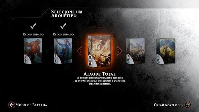 Criação automática de decks busca tornar o jogo mais acessível (Foto: Reprodução / Dario Coutinho)