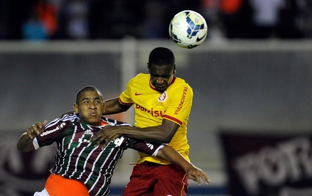 Walter e Juan Fluminense x Internacional (Foto: Fabio Castro / Ag. Estado)