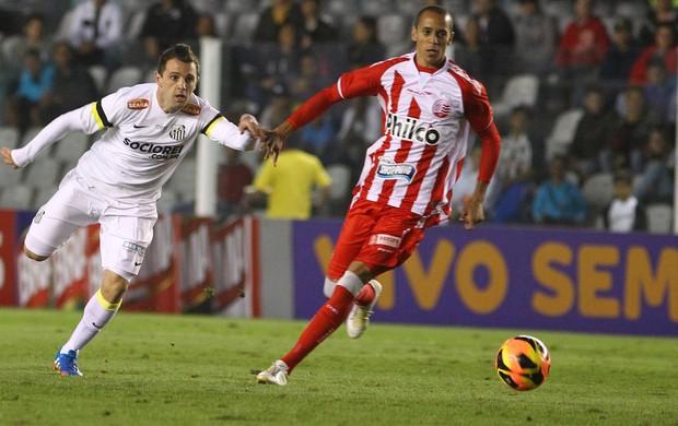 Montillo e Derlei Santos x Náutico (Foto: Mauricio de Souza / Ag. Estado)