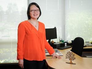 Professora Rosemary Shinkai (Foto: Bruno Todeschini – ASCOM/PUCRS)