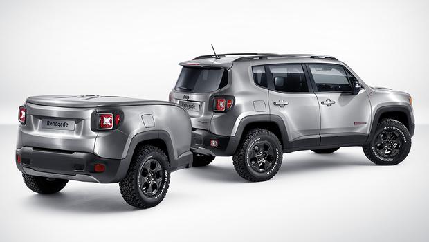 Jeep Renegade Hard Steel (Foto: Jeep)