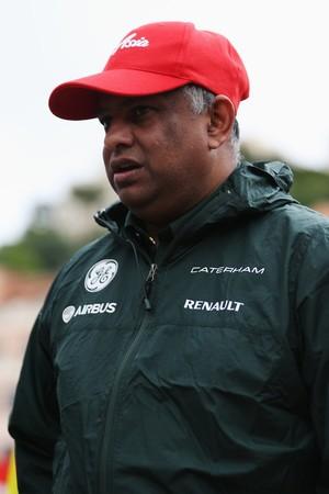 Tony Fernandes, dono da Caterham (Foto: Getty Images)