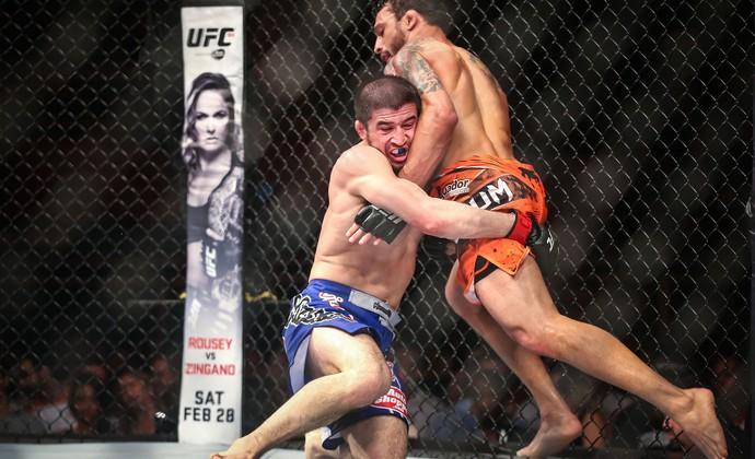 Adriano Martins x Rustam Khabilov, UFC (Foto: Jefferson Bernardes/inovafoto)