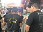 Polícia cumpre mandados de busca e apreensão em boxes de Terminal