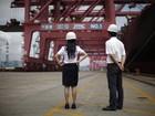 Ações chinesas caem com atividade industrial fraca