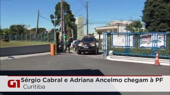 Cabral e Adriana Ancelmo estão em Curitiba para depor a Moro