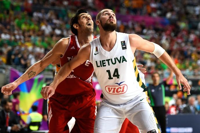 Lituânia Jonas Valanciunas basquete (Foto: Getty Images)