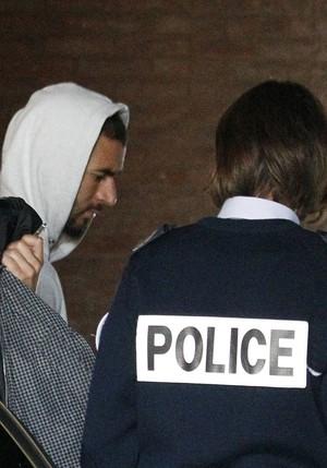 Benzema Justiça Valbuena França (Foto: AFP)