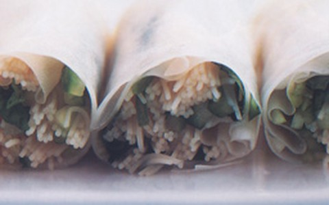 Rolinhos de arroz