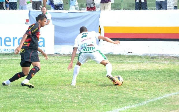 Sousa 1 x 1 Sport, no Estádio Marizão (Copa do Nordeste) (Foto: Jéfferson Emmanoel)