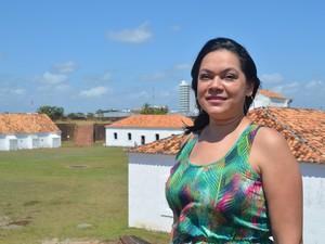 Patrícia Bastos já gravou cinco discos sobre música do Amapá (Foto: Fabiana Figueiredo/G1)