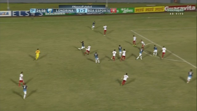 9b1f41b272 Londrina x Boa Esporte - Campeonato Brasileiro Série B 2017-2017 ...