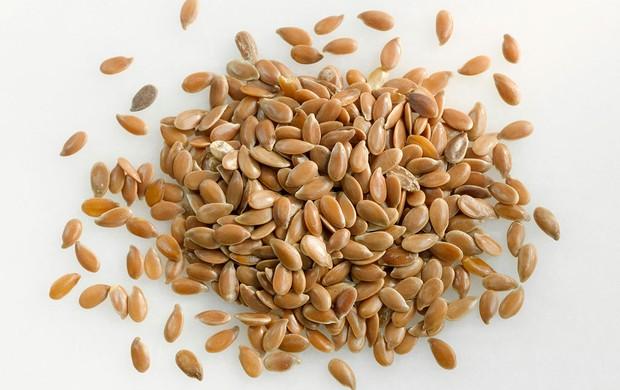 grãos linhaça (Foto: Agência Getty Images)