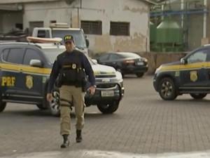 MPT e PRF estão envolvidas em operação contra grupo criminoso (Foto: Reprodução/ TV TEM)