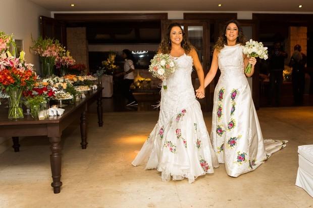 Daniela Mercury e Malu Verçosa se casaram em outubro de 2013 (Foto: Célia Santos/Divulgação)