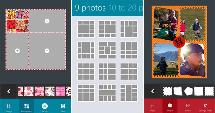 Phototastic é um editor completo para o Windows Phone com suporte a colagem (Foto: Divulgação/Windows Phone Store)