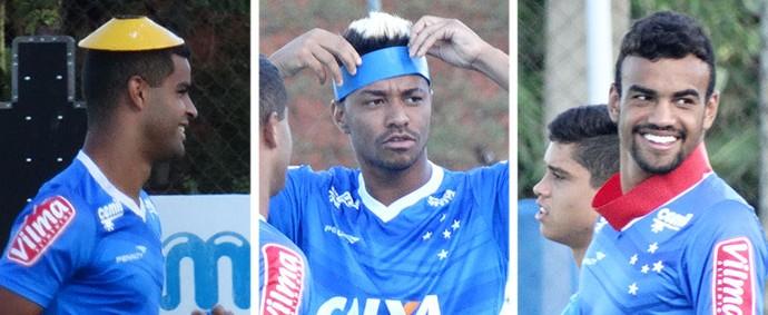MONTAGEM - Fabrício Rafael Silva Alisson Cruzeiro (Foto: Editoria de Arte)