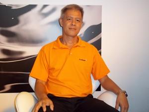 Carlos Tooge, vice-presidente da Clariant Oil & Mining para a América Latina (Foto: Lilian Quaino/G1)