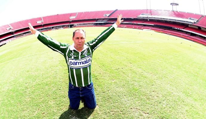 Evair Palmeiras Paulistão 1993 (Foto: Marcos Ribolli)