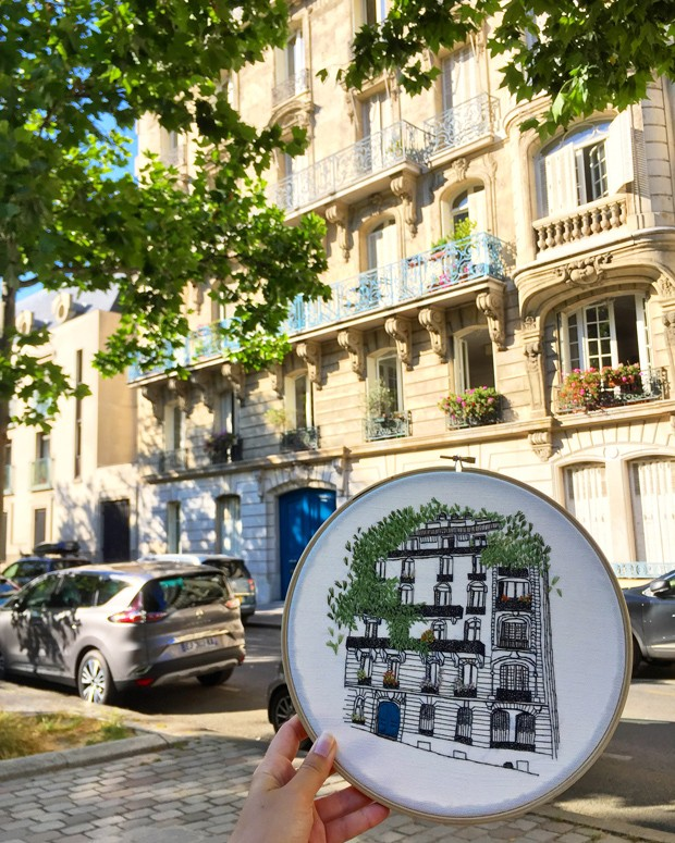 elin-blogueira-bordado-arquitetura (Foto: Divulgação)