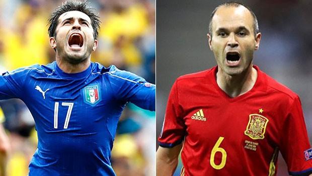 Eurocopa 2016: veja Itália x Espanha nesta segunda  (divulgação)