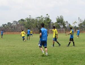 Primeira etapa da avaliação do Rondoniense SC (Foto: Welmer Bueno/ Divulgação)