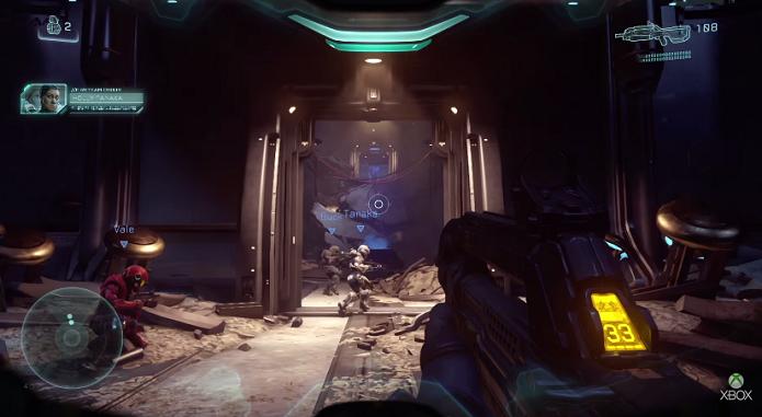 Novo Halo promete ser ação pura (Foto: Reprodução/TechTudo)