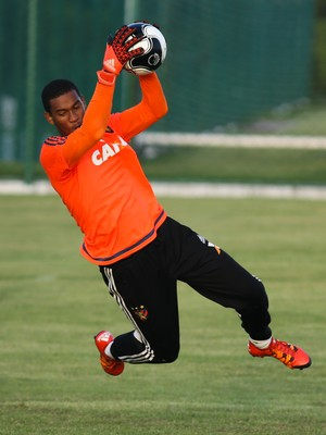 Lucas Sport goleiro (Foto: Williams Aguiar/Sport Club do Recife)